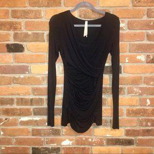 Bailey 44 Black Spandex Mini Dress Medium